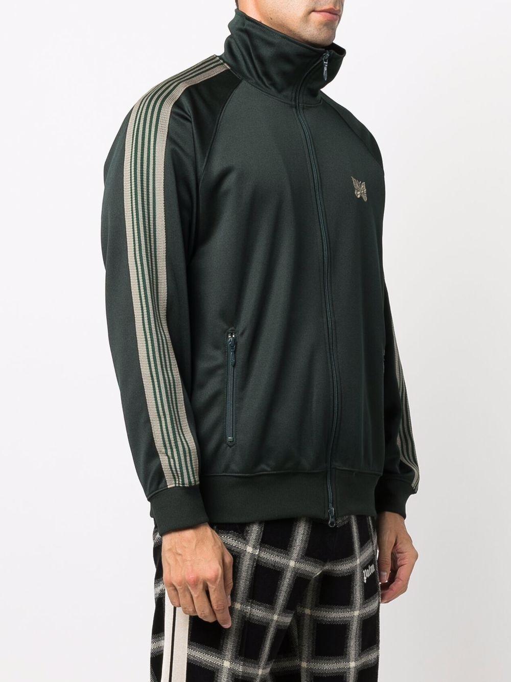 giacca leggera uomo verde in rayon NEEDLES | Giacche | JO221DARK GREEN A