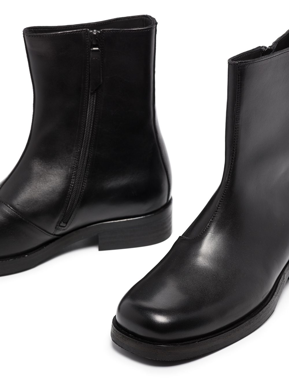 camion boots man black in leather OUR LEGACY | Boots | COCBBLACK