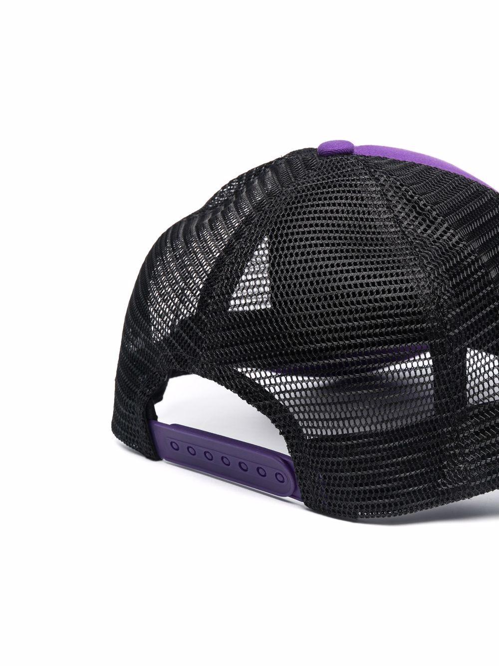 hat with logo man purple in cotton RASSVET | Hats | PACC9K0081