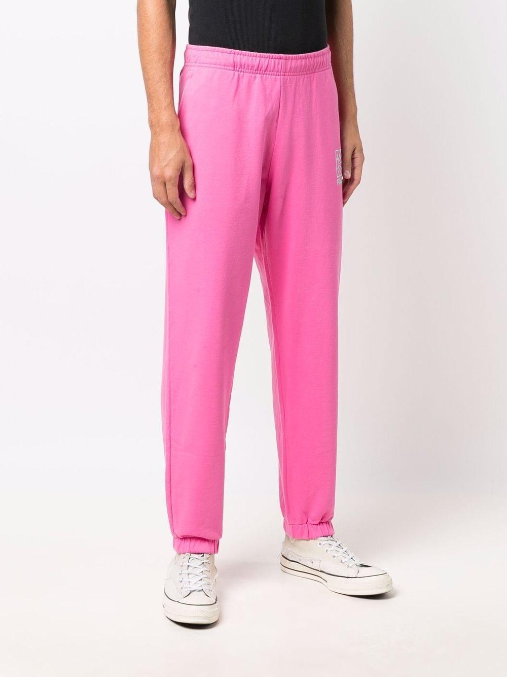 sportes pants man pink in cotton RASSVET | Trousers | PACC9P0034