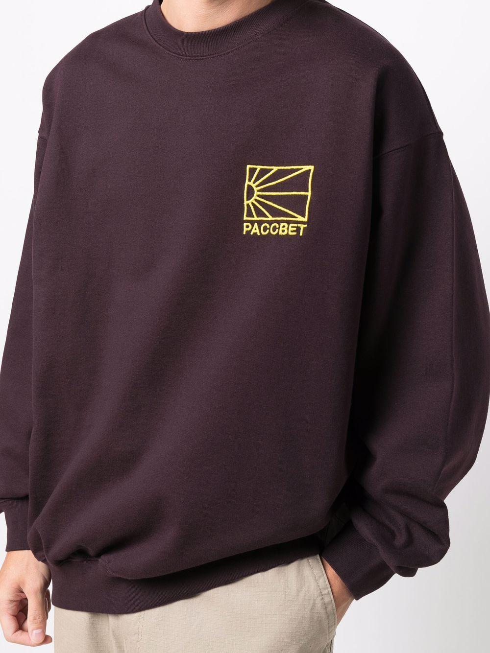 pastel sweatshirt man bordeaux in cotton RASSVET   Sweatshirts   PACC9T0231