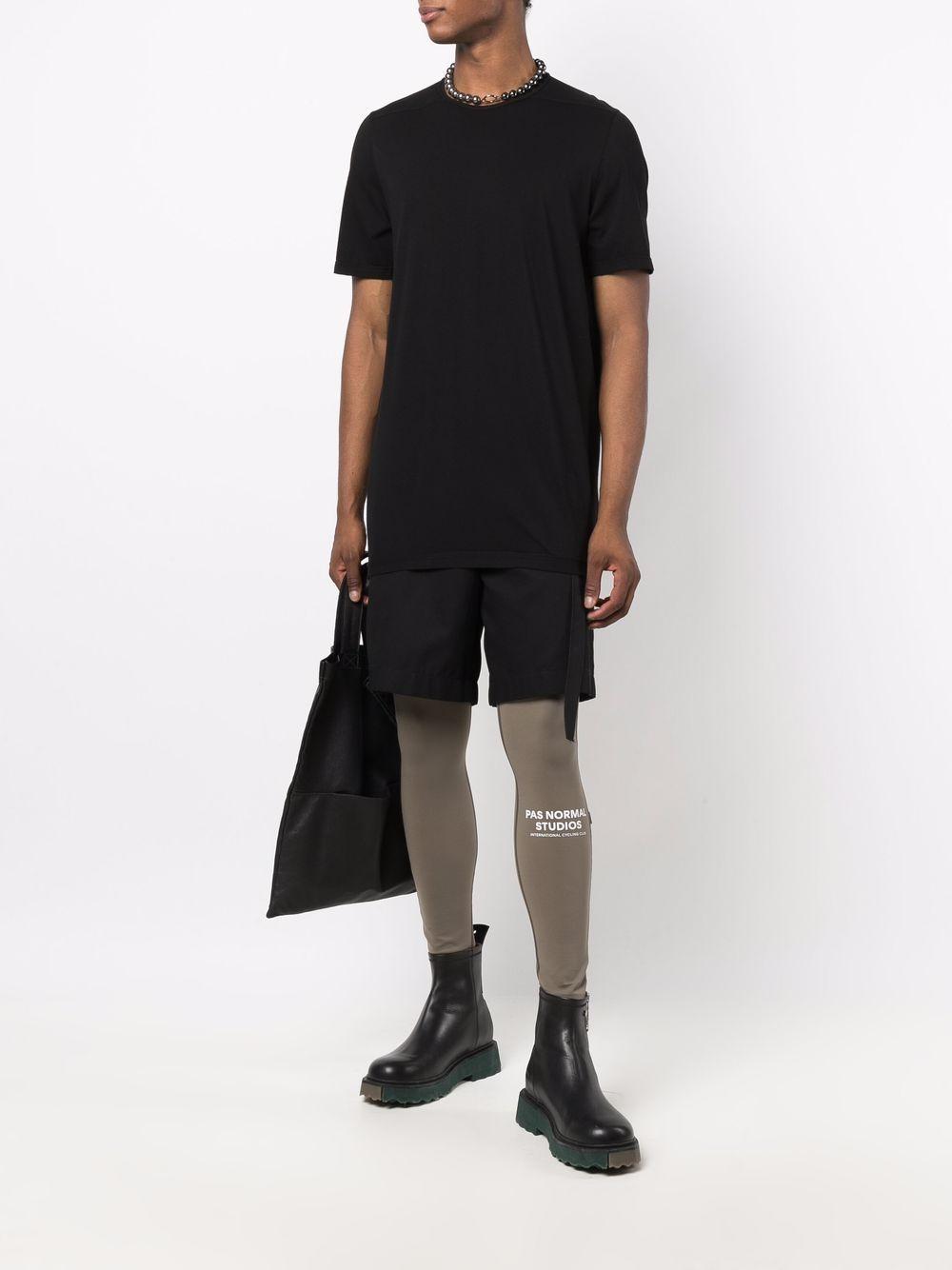organic cotton t-shirt man black RICK OWENS DRKSHDW | T-shirts | DU02A3250 RN09