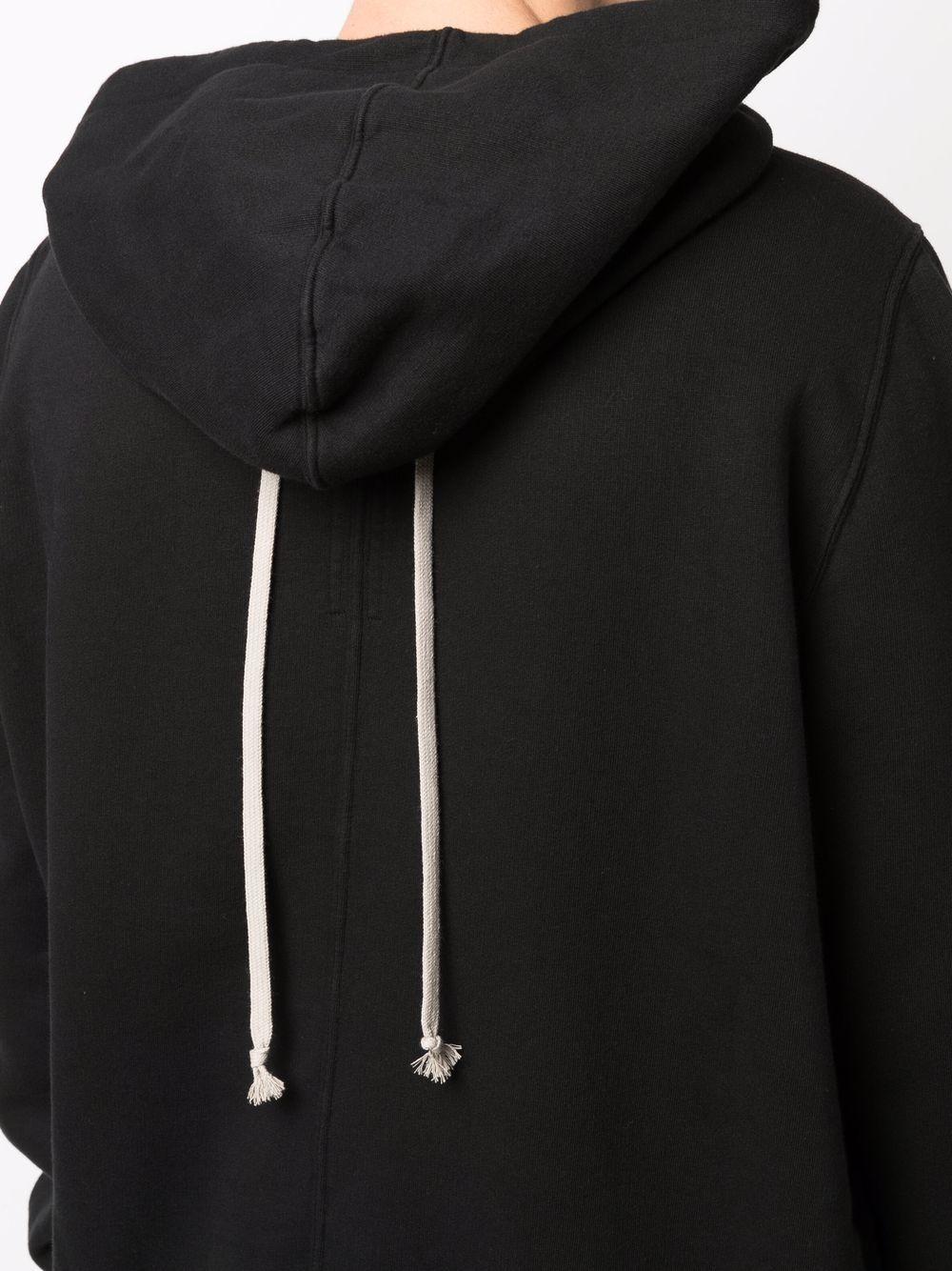 granbury hoodie man black in cotton RICK OWENS DRKSHDW   Sweatshirts   DU02A3289 F09