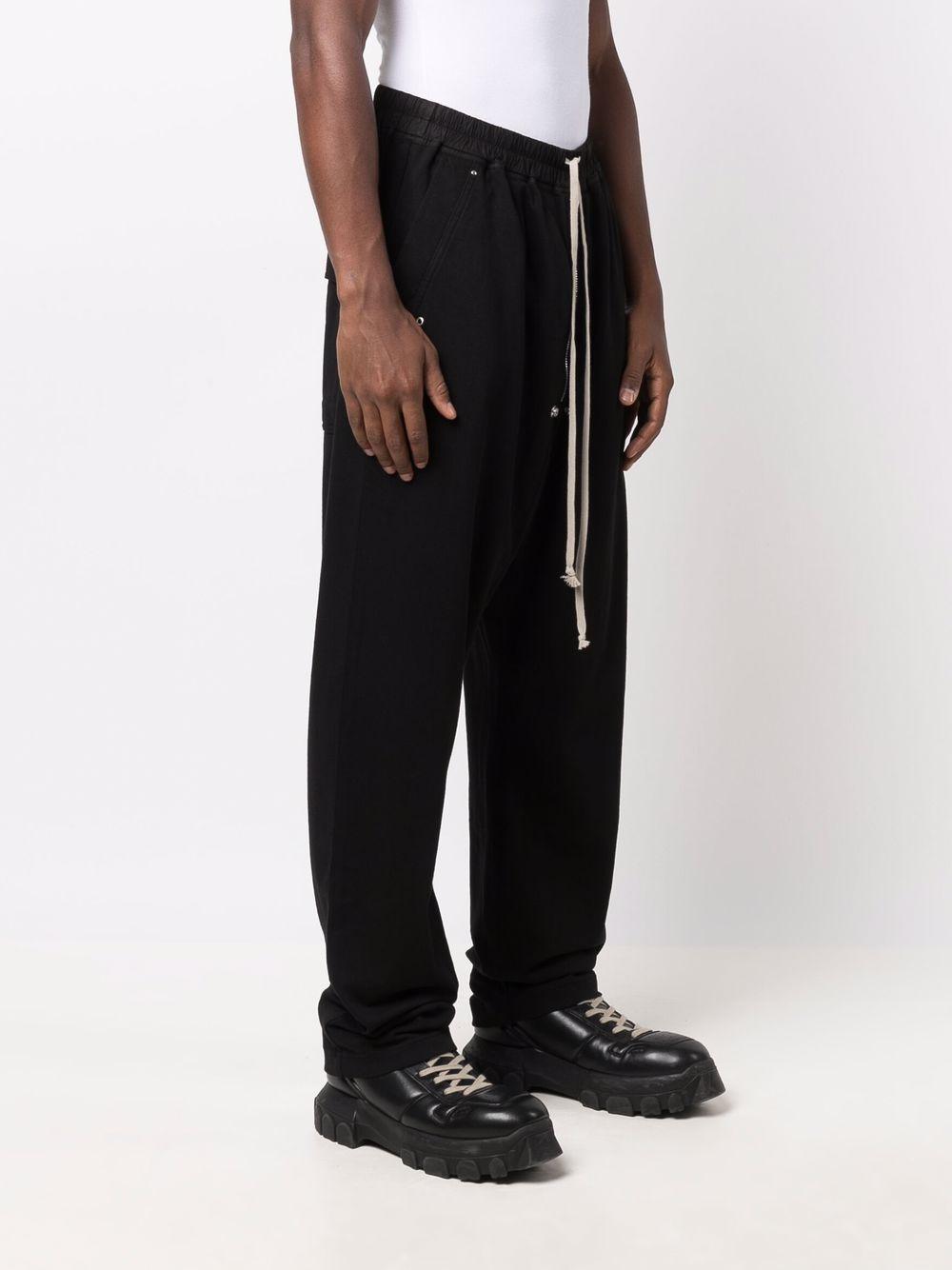 pantaloni bela uomo neri in cotone RICK OWENS DRKSHDW   Pantaloni   DU02A3377 RIG09