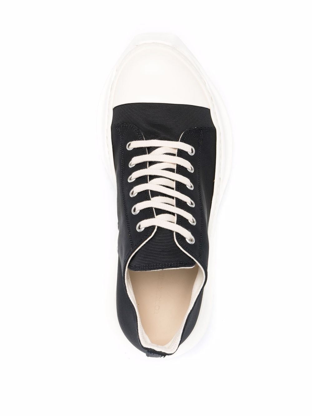 abstract sneakers man black in cotton RICK OWENS DRKSHDW | Sneakers | DU02A3842 FC9111