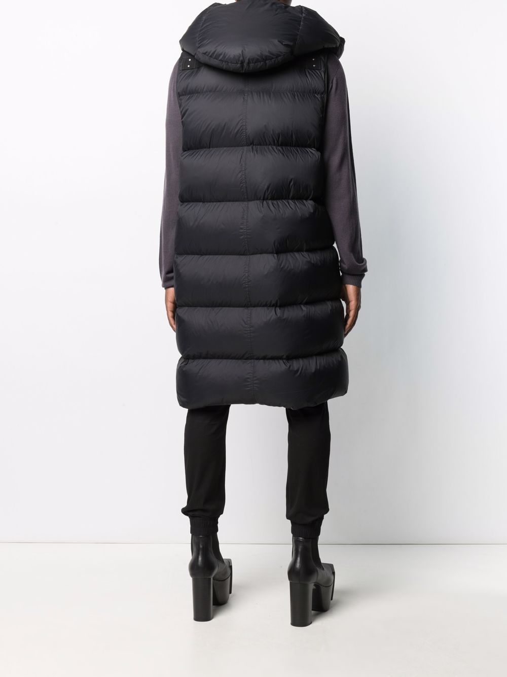 sleeveless down jacket man black  RICK OWENS | Jackets | RU02A5999 NZD309