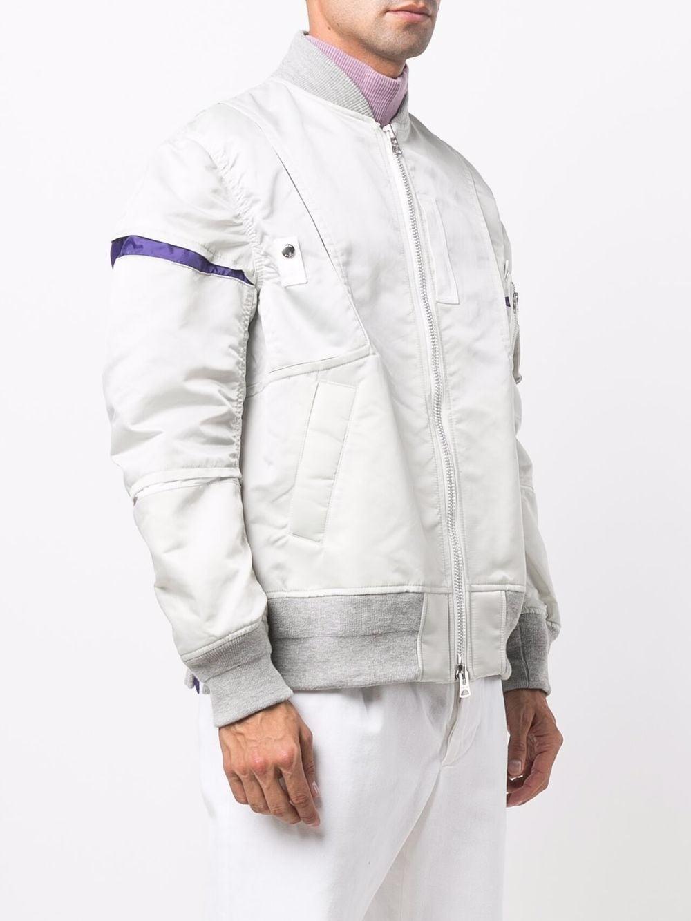 bomber uomo grigio SACAI   Giacche   21-02581M376