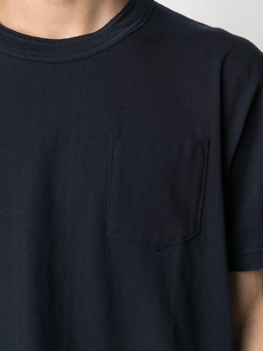 t-shirt con taschino uomo blu in cotone SACAI | T-shirt | SCM-034201