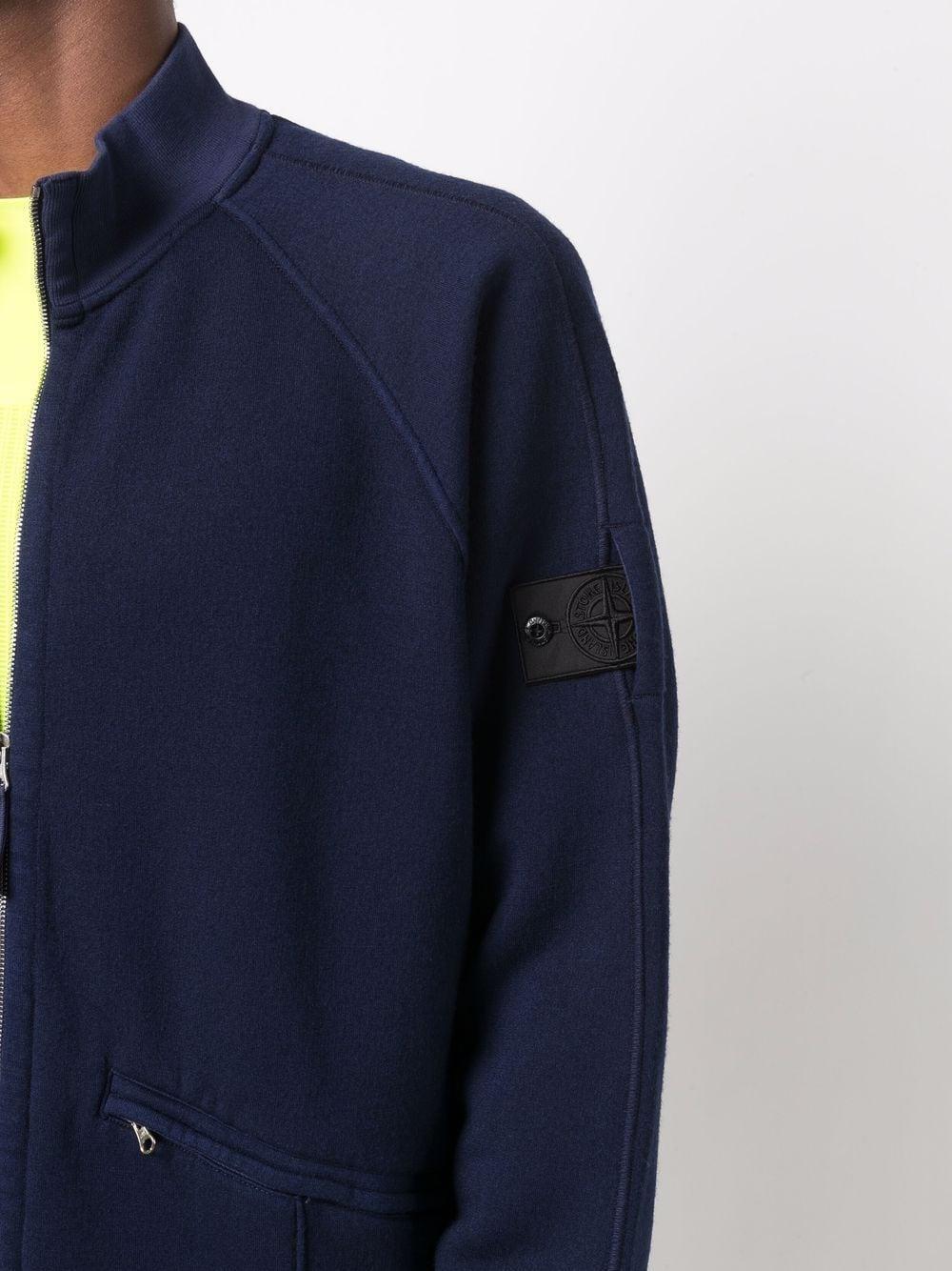 blended wool jacket man blue STONE ISLAND SHADOW PROJECT | Jackets | 751960310V1027