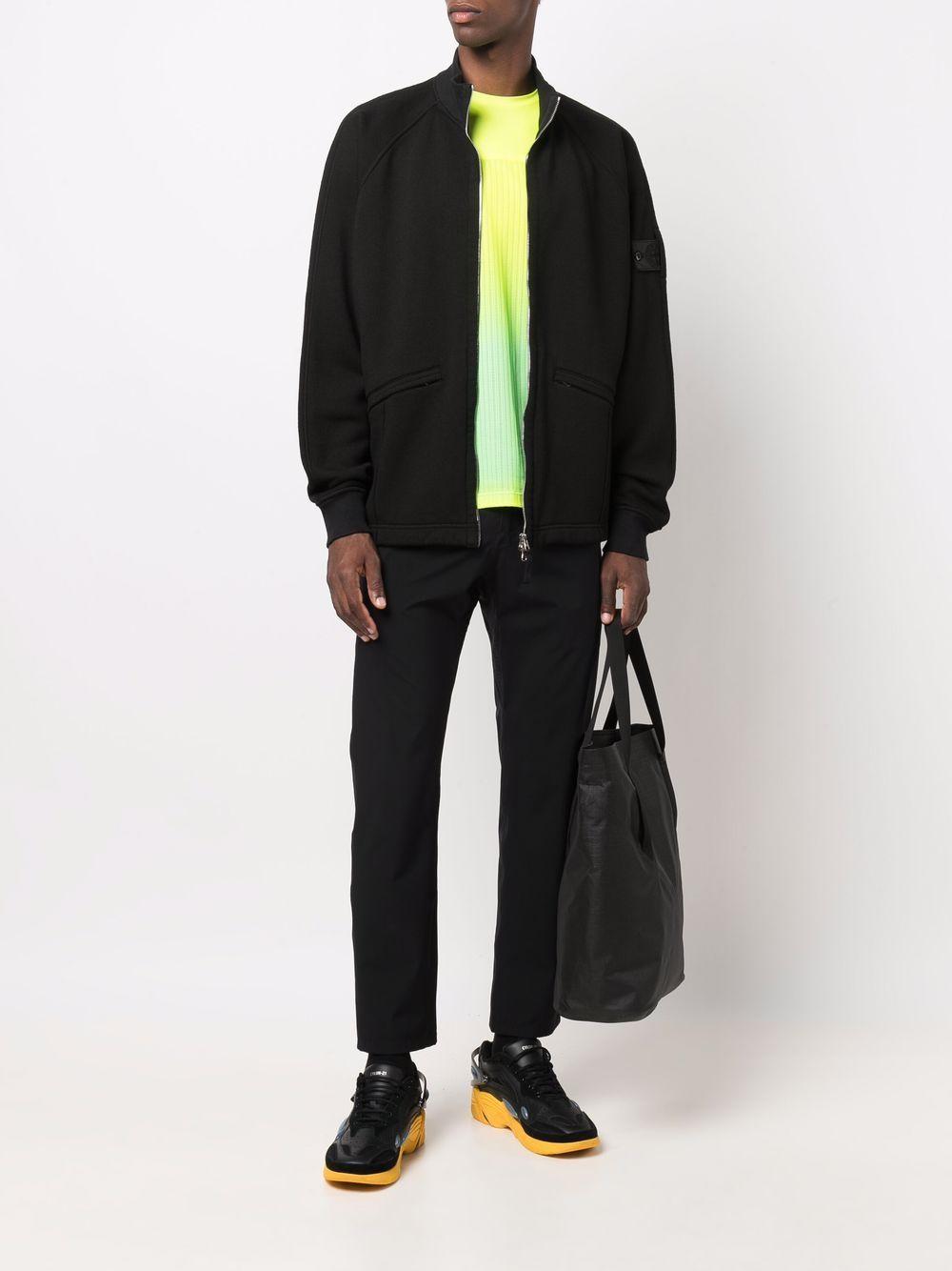 blended wool jacket man black STONE ISLAND SHADOW PROJECT   Jackets   751960310V1029