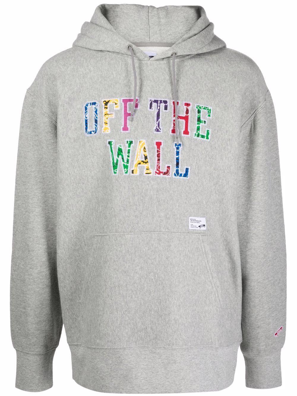 logo hoodie man gray in cotton VANS VAULT X BEDWIN   Sweatshirts   VN0A5EA202F1