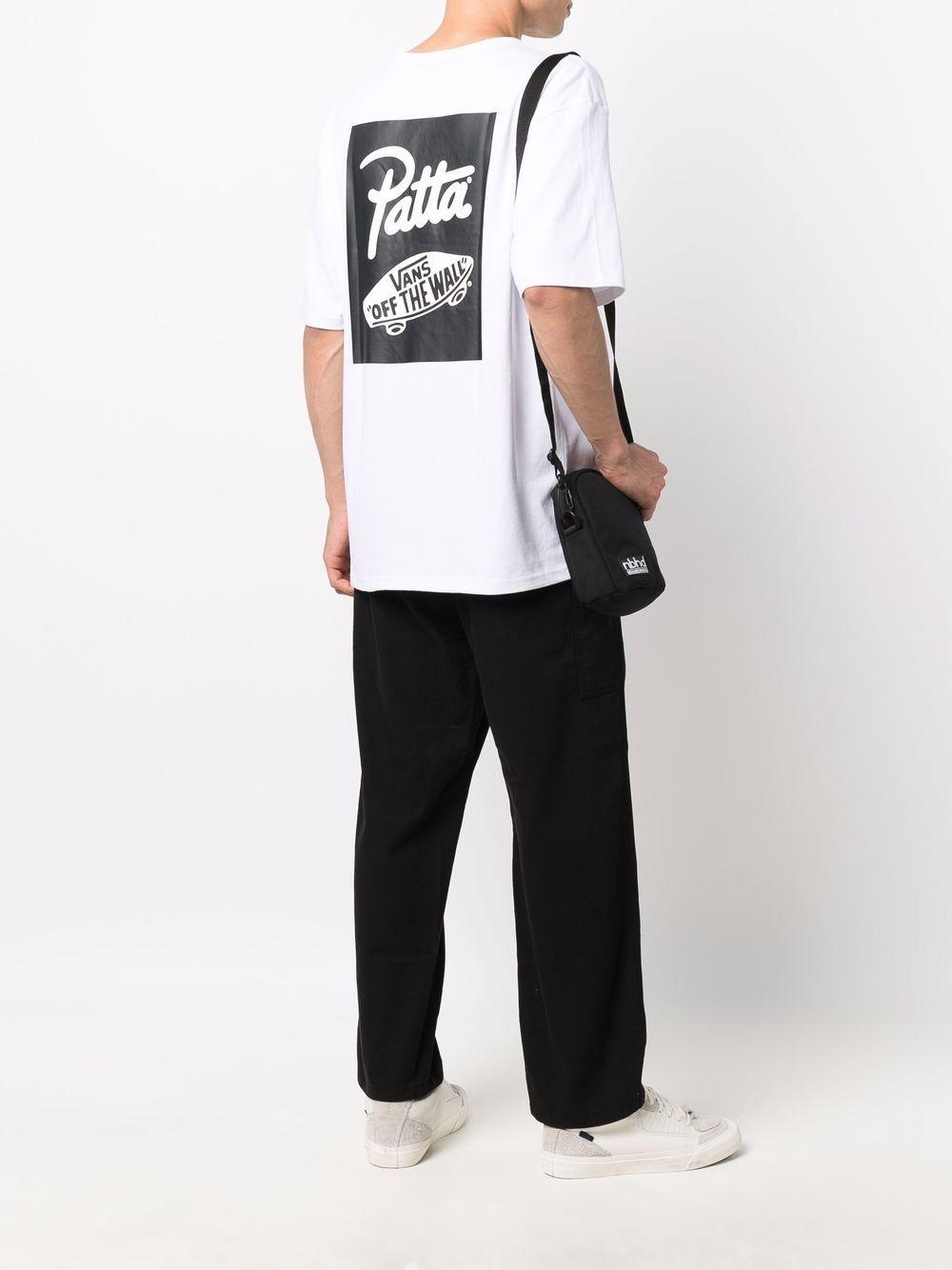 printed t-shirt man white in cotton VANS VAULT X PATTA   T-shirts   VN0A7SO7WHT1