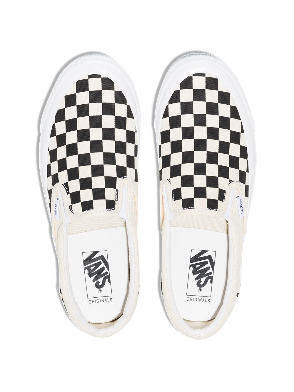 sneakers og classic slip on unisex in tela bianche e nere VANS VAULT | Sneakers | VN0A45JKT0A1