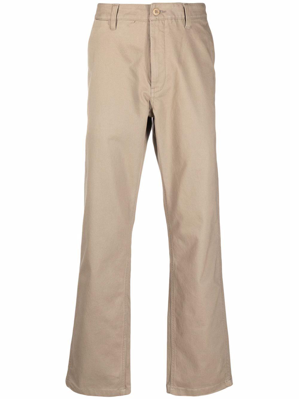 straight pants man beige in cotton VANS VAULT | Trousers | VN0A5E1PH3G1