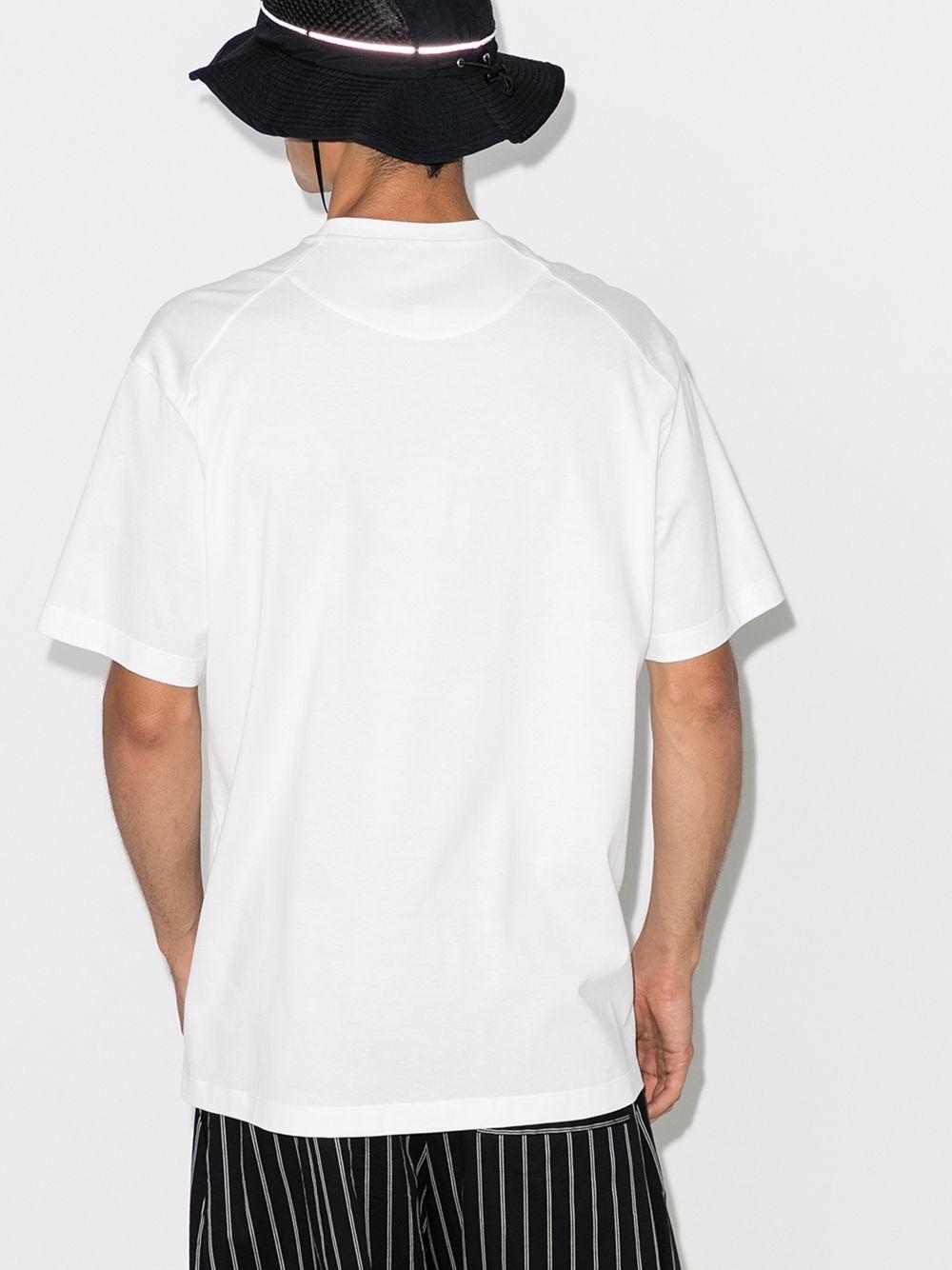 t-shirt con logo uomo bianca in cotone Y-3 | T-shirt | FN3359WHITE
