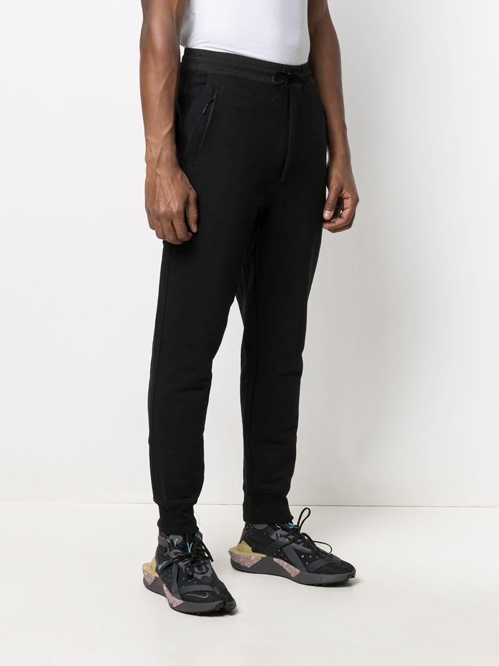 sport pants man black in cotton Y-3 | Trousers | GV4202BLACK