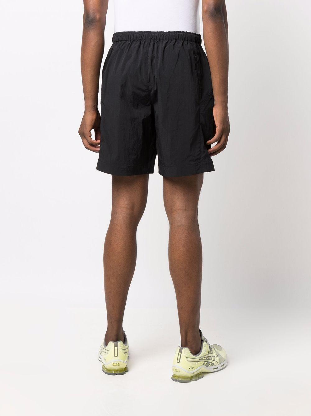 bermuda sportivi uomo neri in poliestere Y-3 | Bermuda | HB2784BLACK