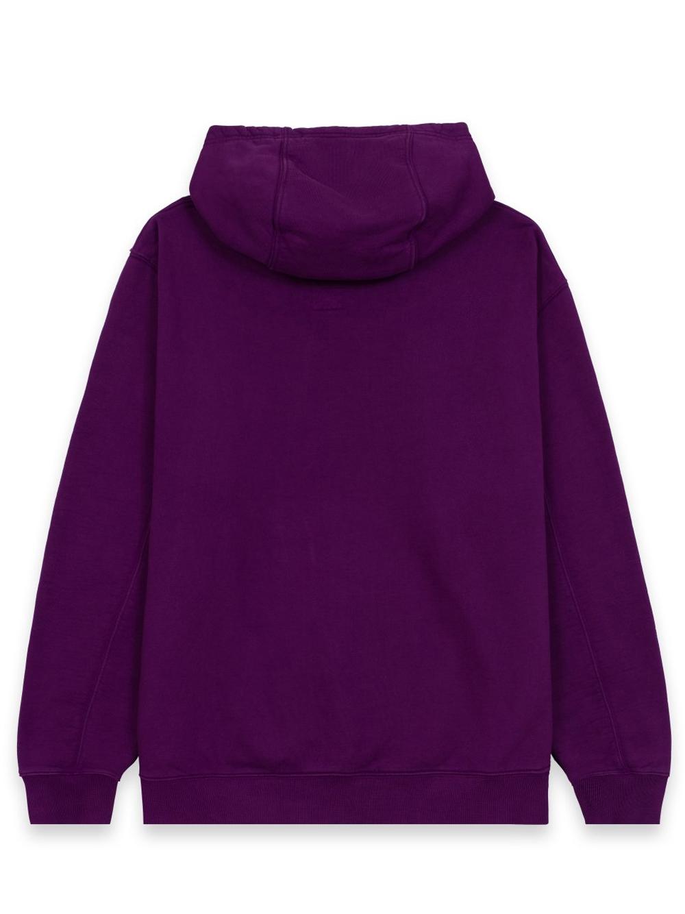 clownin hoodie man purple in cotton BRAIN DEAD   Sweatshirts   F21T09001946PURPLE