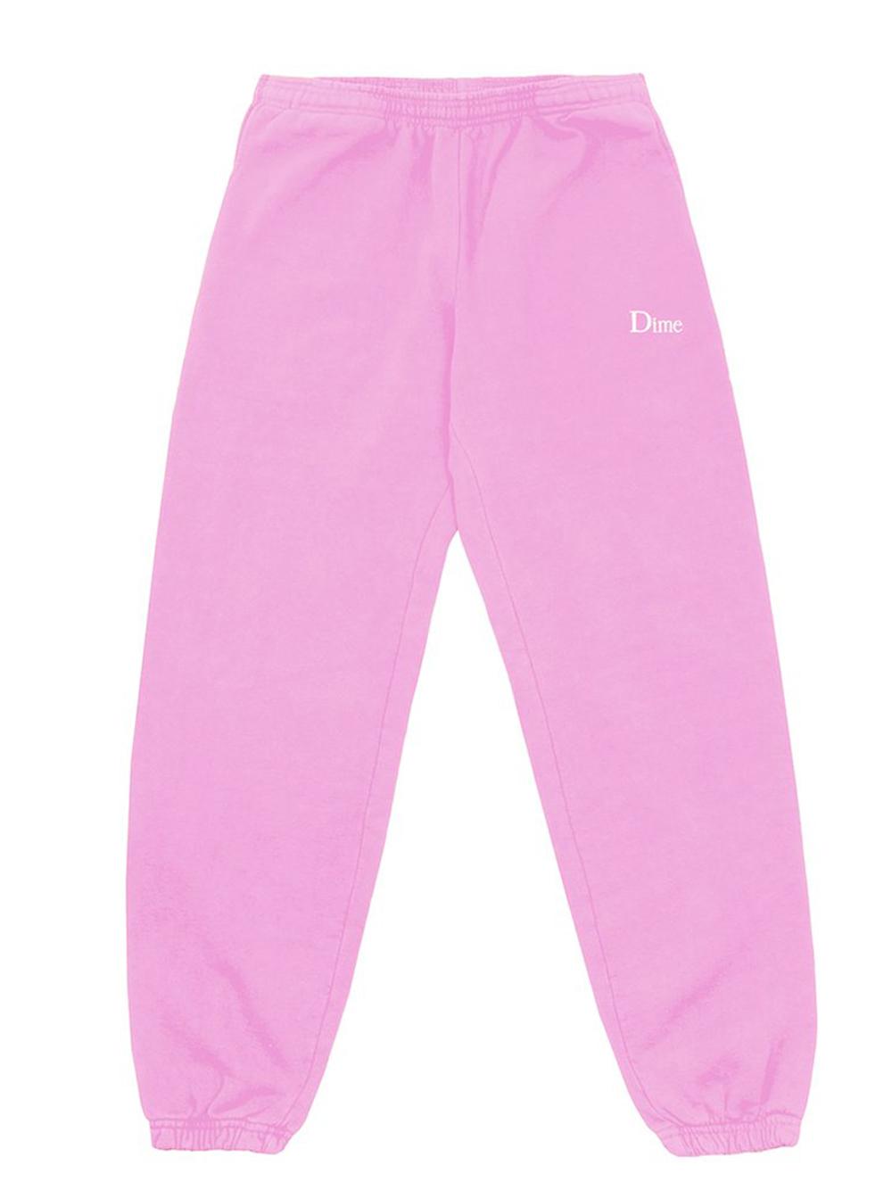 Pantaloni con logo rosa Unisex in Cotone DIME | Pantaloni | DIME5006LTPI