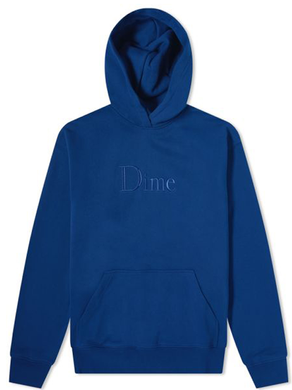 Logo sweatshirt navy man Cotton DIME | Sweatshirts | DIME5007NVY