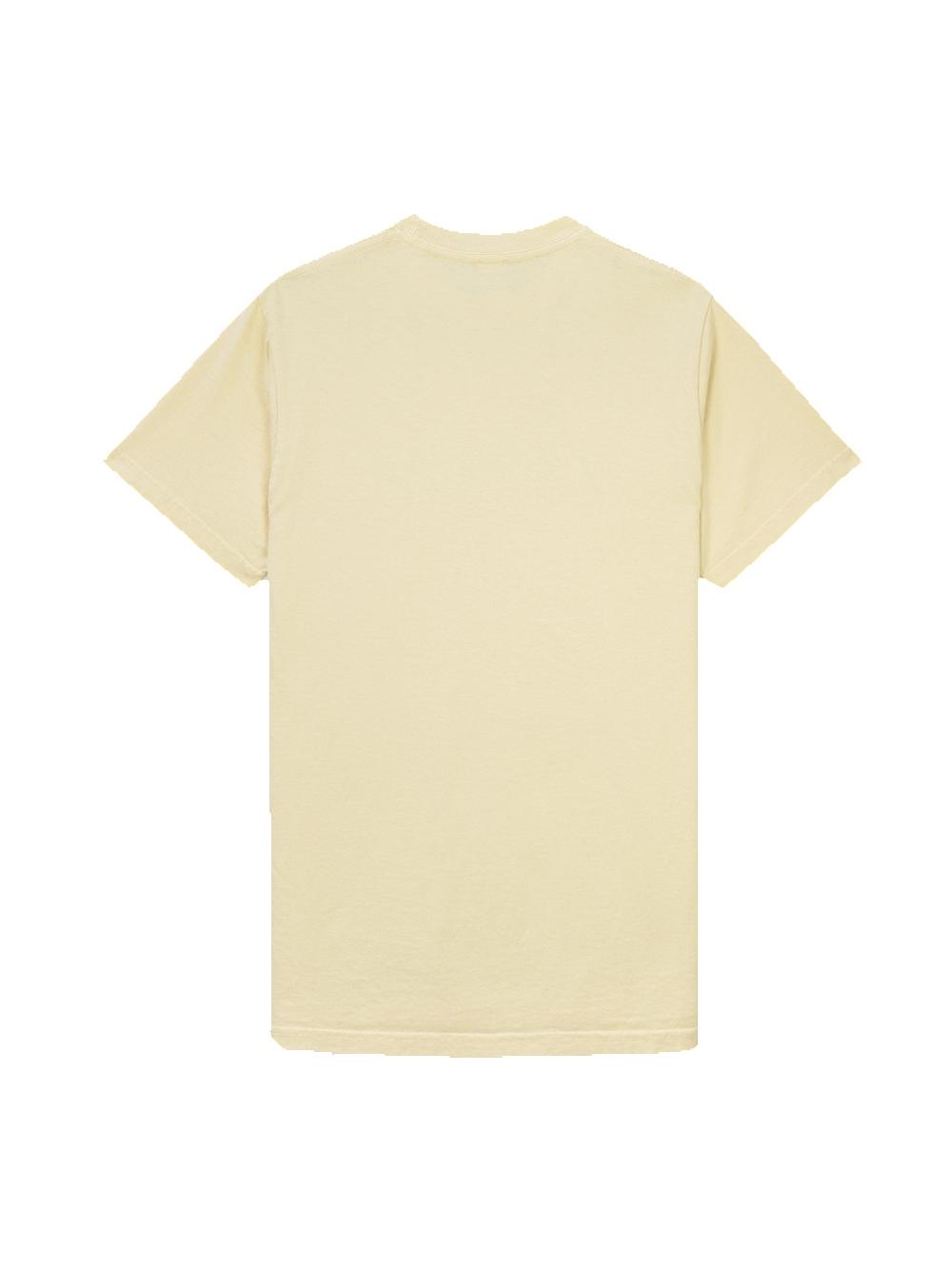 80's fitness t-shirt Beige Unisex Cotton SPORTY & RICH | T-shirts | TS164CP