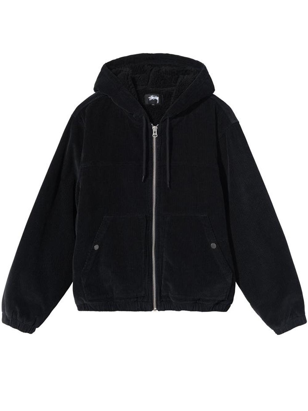 cord work jacket STUSSY | Giacche | 115605BLACK