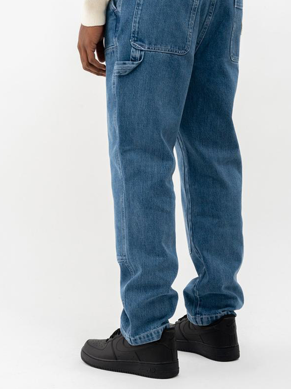 denim work pant man blue STUSSY   Jeans   116482SBLUE