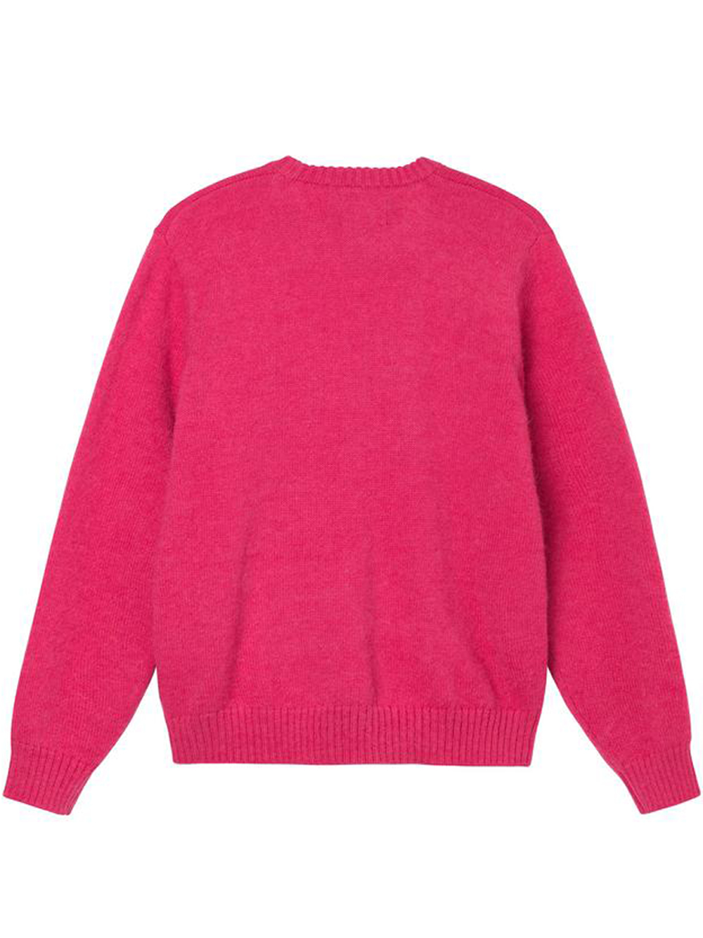 double cable sweater man pink STUSSY   Sweaters   117096PINK