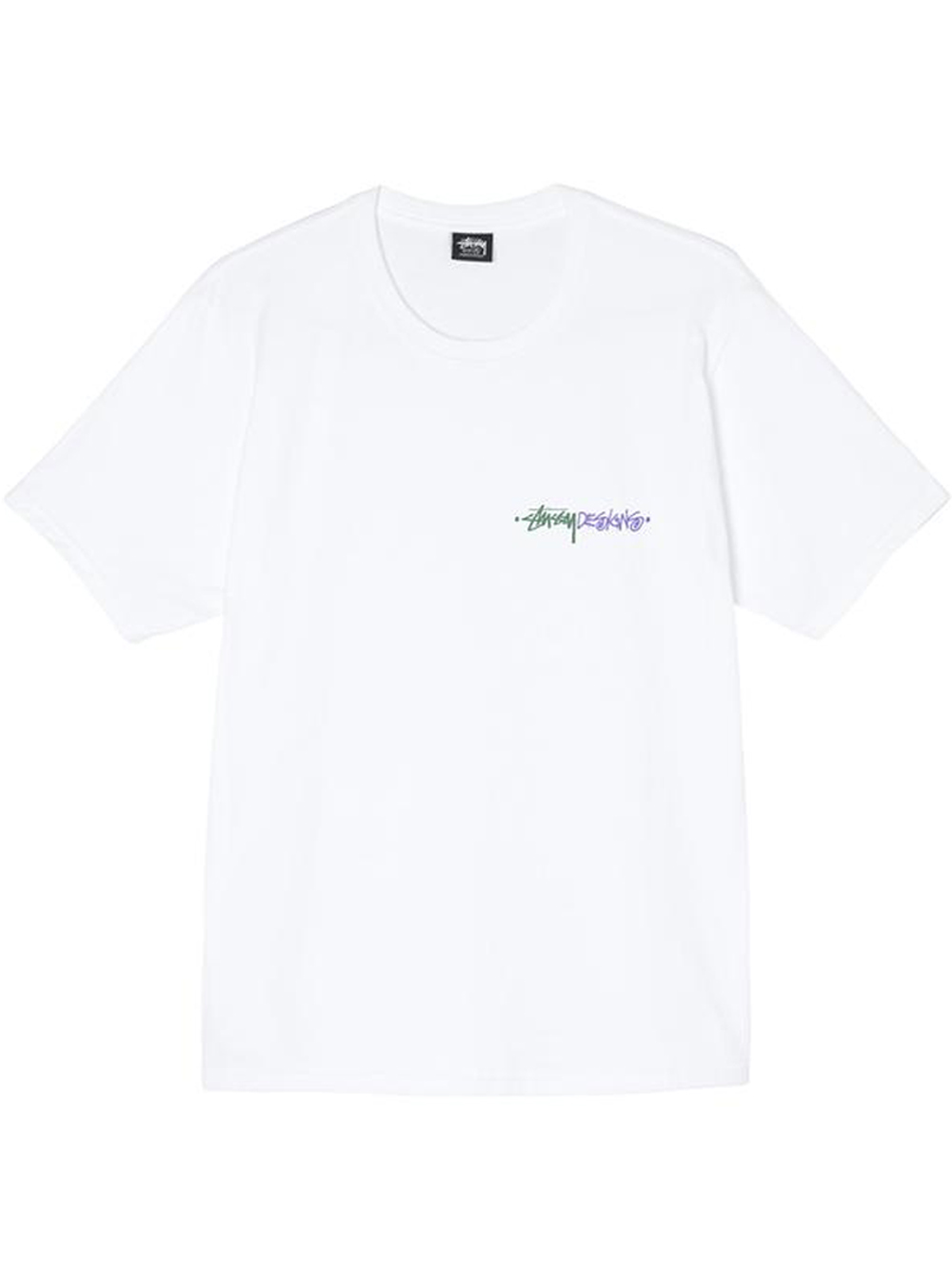 positive vibration t-shirt man white in cotton STUSSY | T-shirts | 1904711WHITE