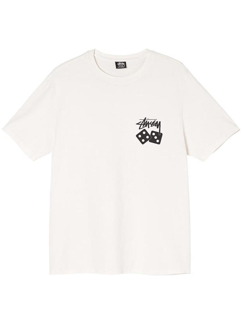 t-shirt dice pig dyed uomo natural in cotone STUSSY | T-shirt | 1904721NATURAL