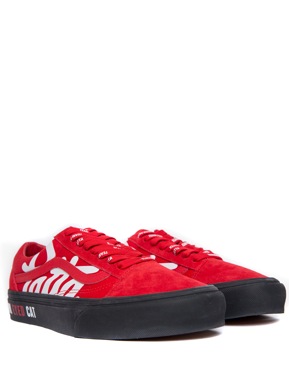 ua old skool vlt lx sneakers unisex red VANS VAULT X PATTA | Sneakers | VN0A4BVF5X81