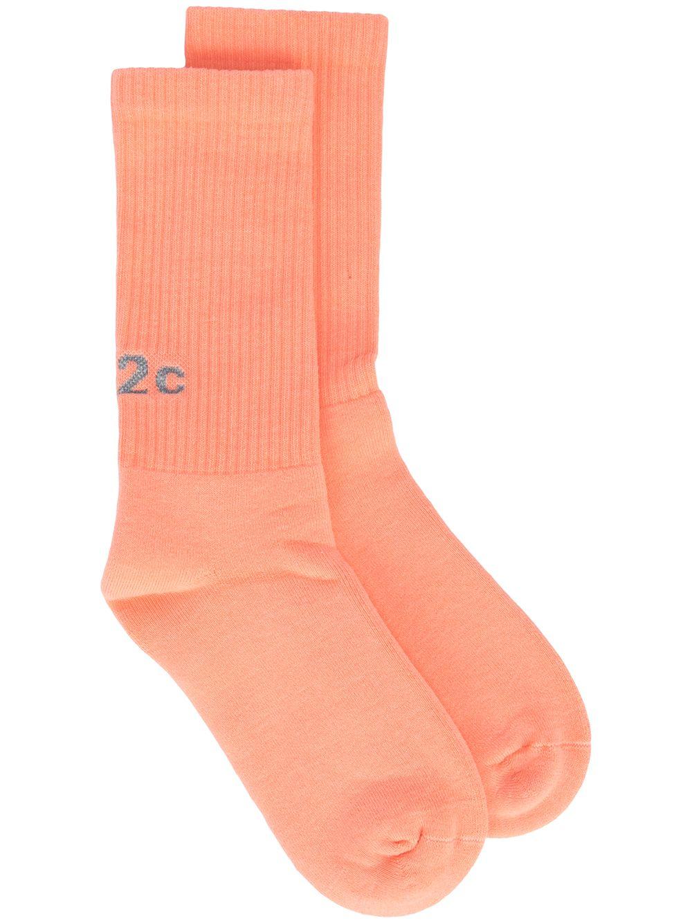 Coral socks man 032c   Socks   SS21-A-1020CORAL