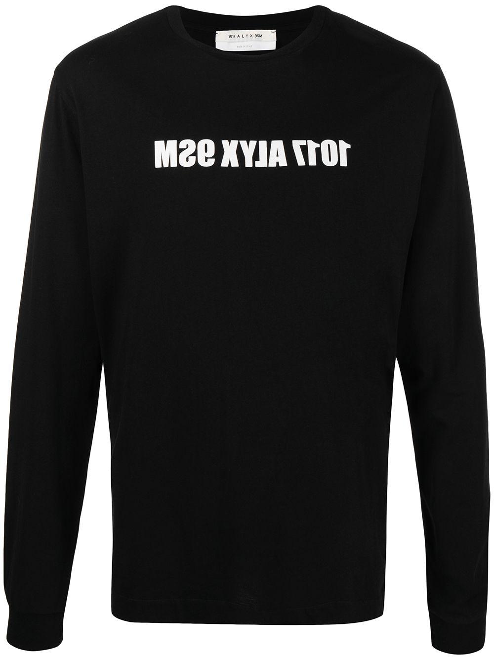T-Shirt Con Logo Uomo 1017 ALYX 9SM | T-shirt | AAMTS0221FA01BLK0001