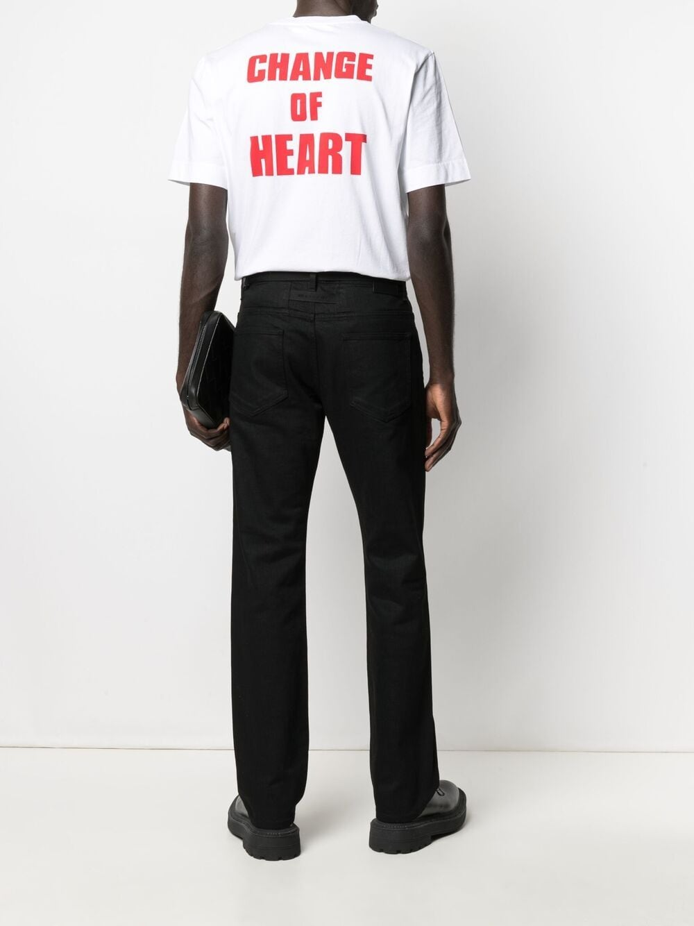 1017 Alyx 9sm change of heart s/s t-shirt man white