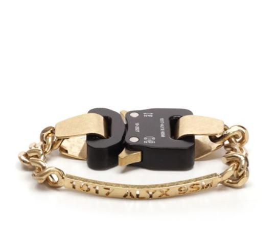1017 Alyx 9Sm buckle bracelet man metal 1017 ALYX 9SM | Jewellery | AAUJW0034OT01GLD0003