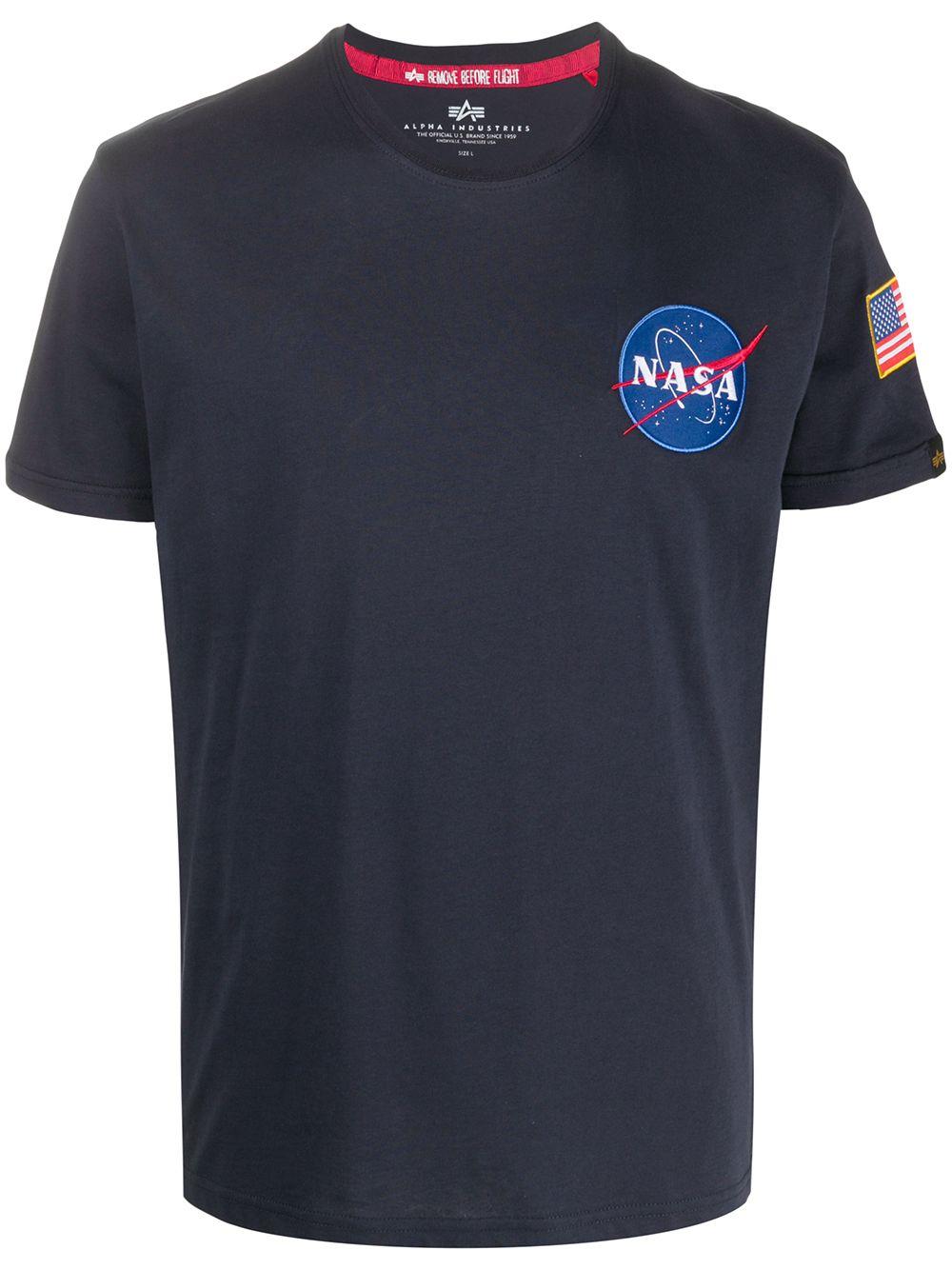 Alpha Industries t-shirt nasa uomo ALPHA INDUSTRIES | T-shirt | 17650707