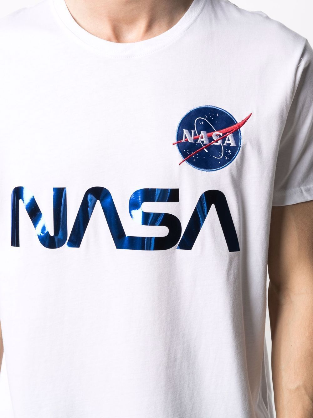 Alpha Industries t-shirt nasa reflective uomo ALPHA INDUSTRIES | T-shirt | 17850190
