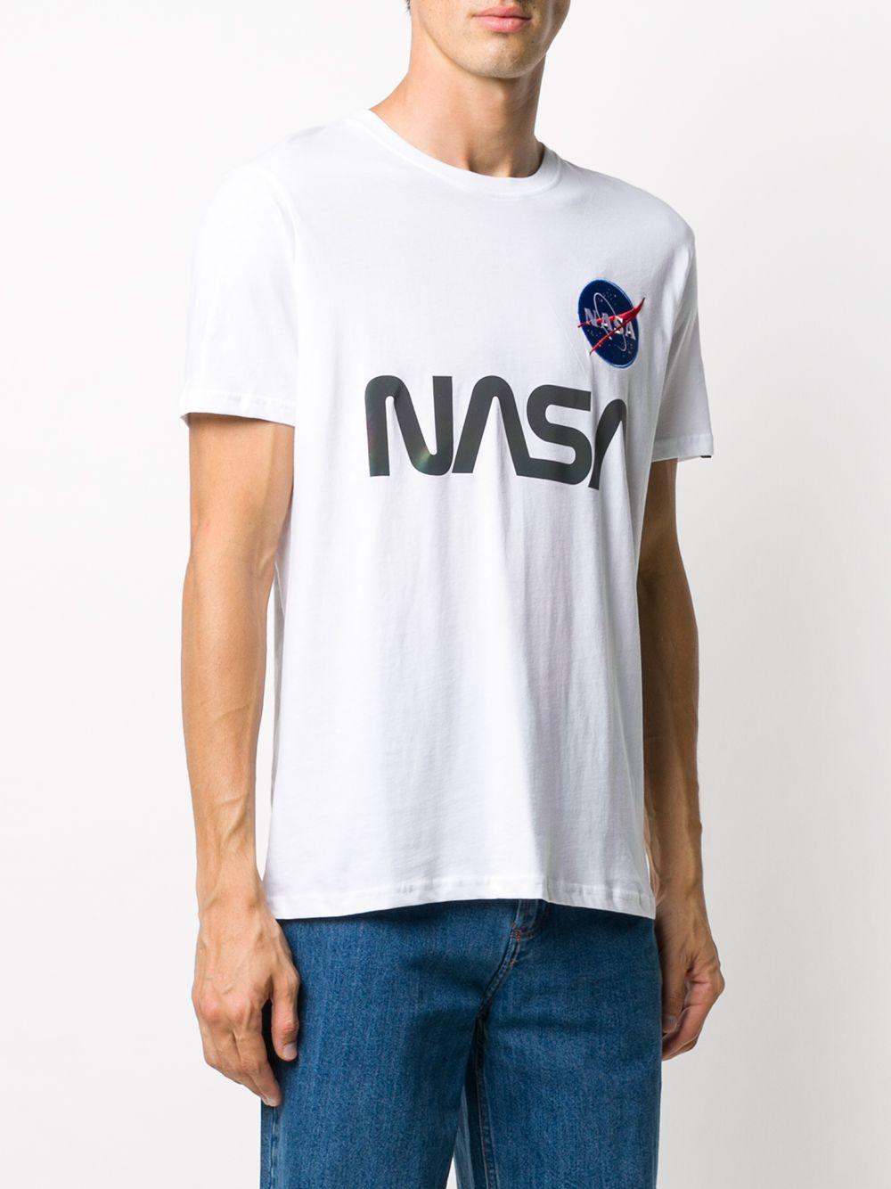 Nasa Rainbow Reflective T-Shirt Uomo ALPHA INDUSTRIES | T-shirt | 178501RR09