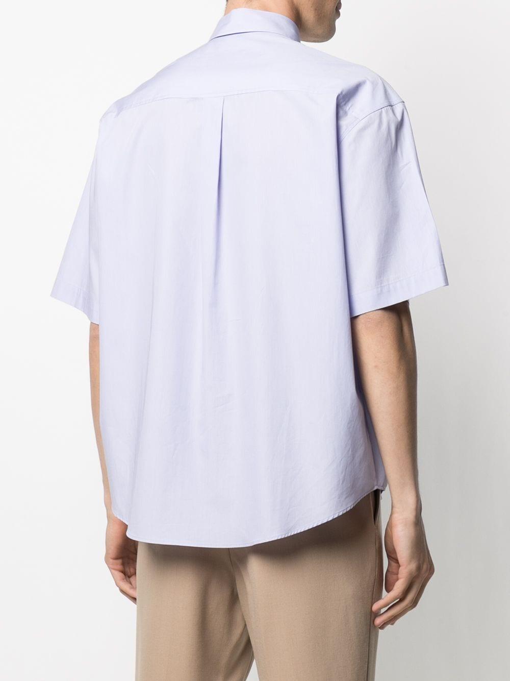 Ami - Alexandre Mattiussi camicia con colletto uomo AMI - ALEXANDRE MATTIUSSI   Camicie   E21HC251.426504