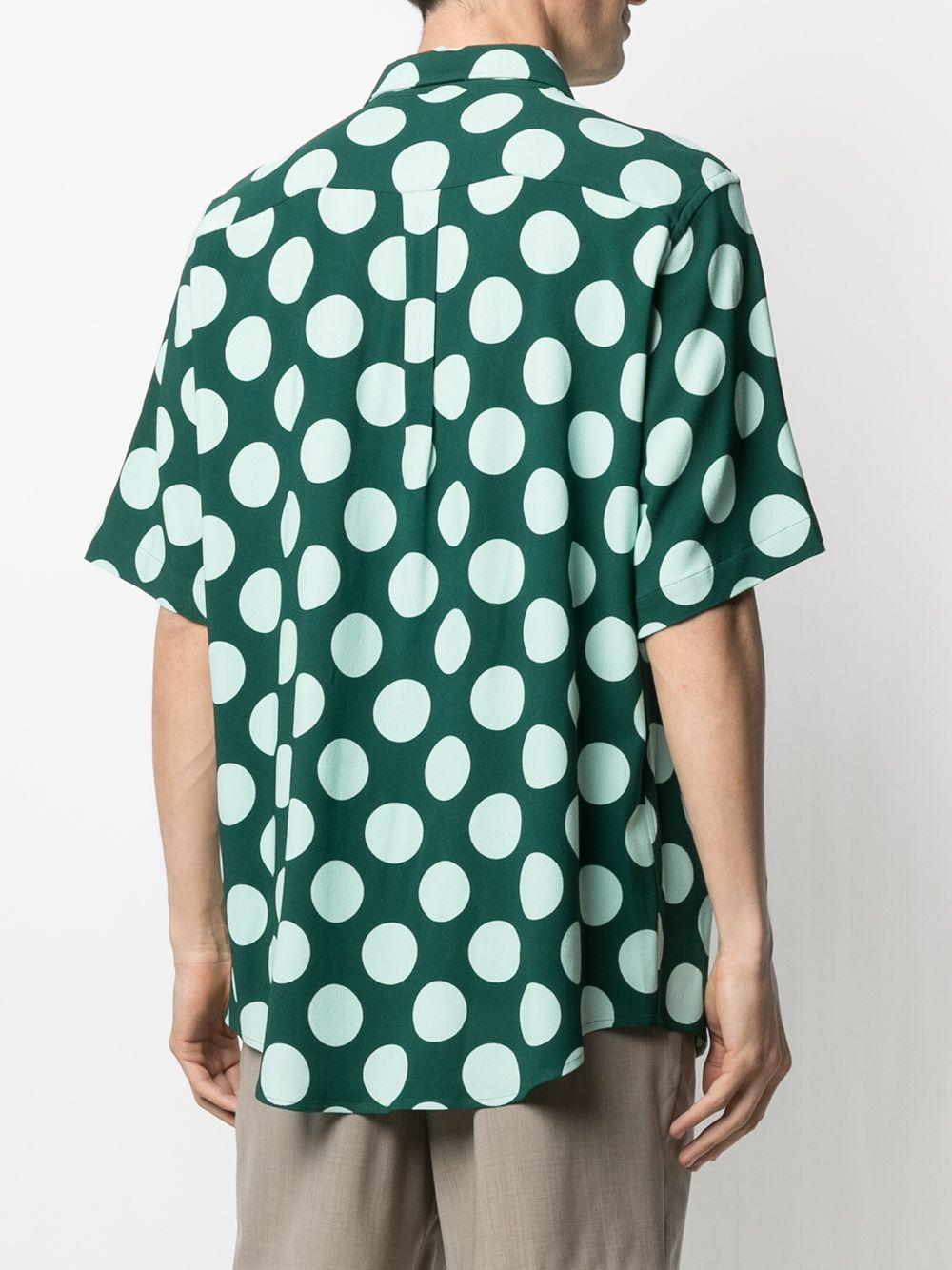 POLKA DOT SHIRT AMI - ALEXANDRE MATTIUSSI | Shirts | E21HC259.294310