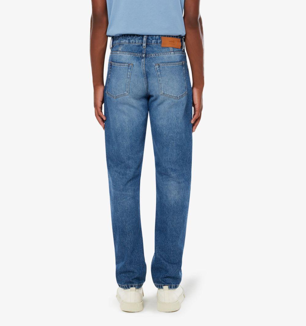STRAIGHT DENIM AMI - ALEXANDRE MATTIUSSI   Jeans   E21HD002.601480