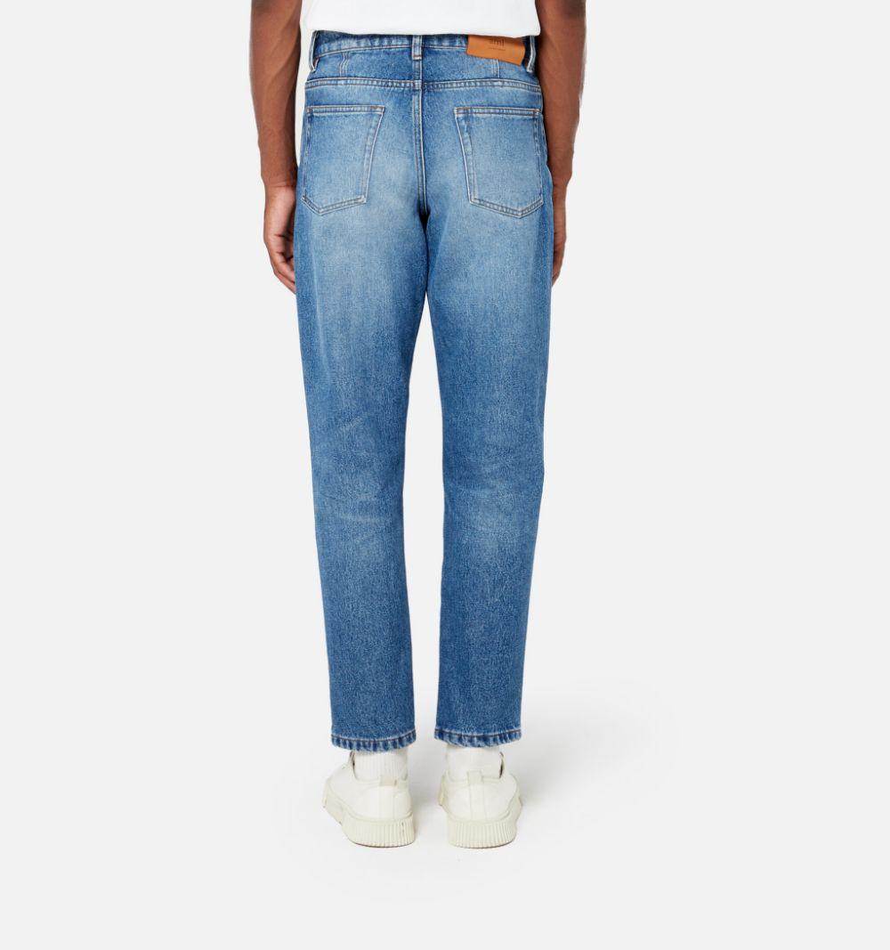 STRAIGHT DENIM AMI - ALEXANDRE MATTIUSSI | Jeans | E21HD204.601480