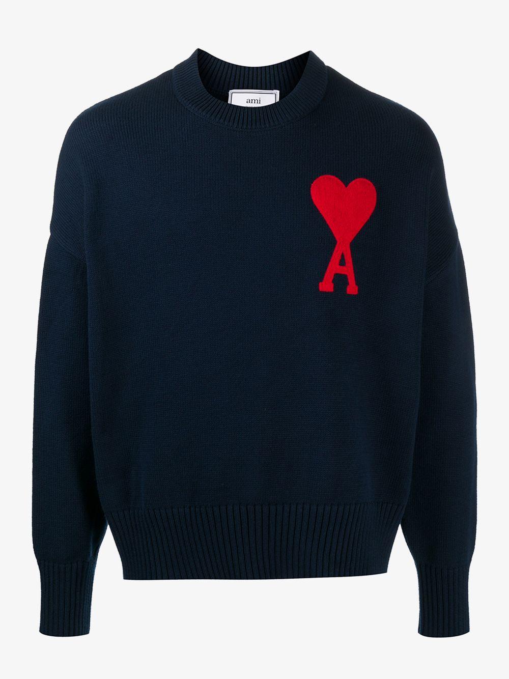 LOGO KNITWEAR AMI - ALEXANDRE MATTIUSSI   Sweaters   E21HK009.016410