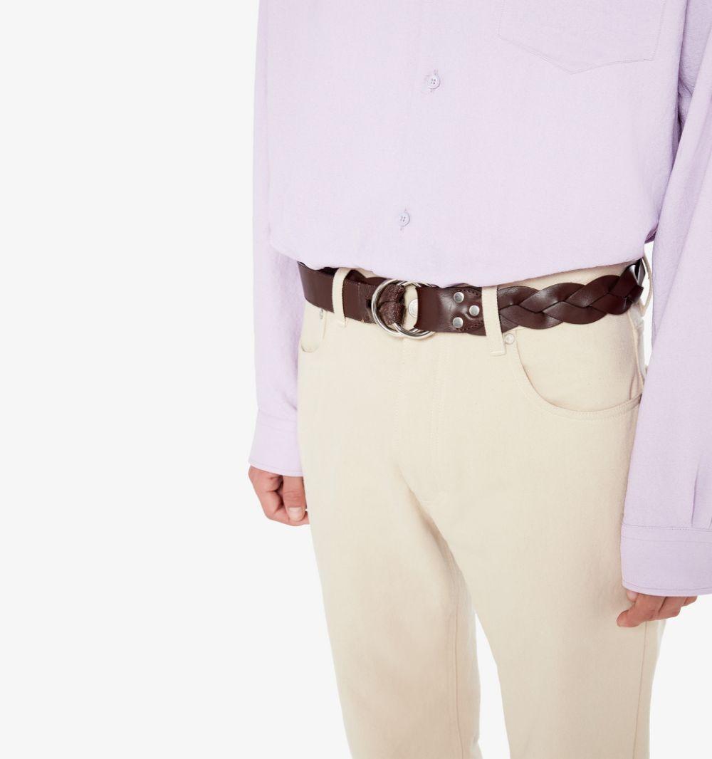 Ami-alexandre mattiussi pantaloni a sigaretta uomo AMI - ALEXANDRE MATTIUSSI   Pantaloni   E21HT004.288250