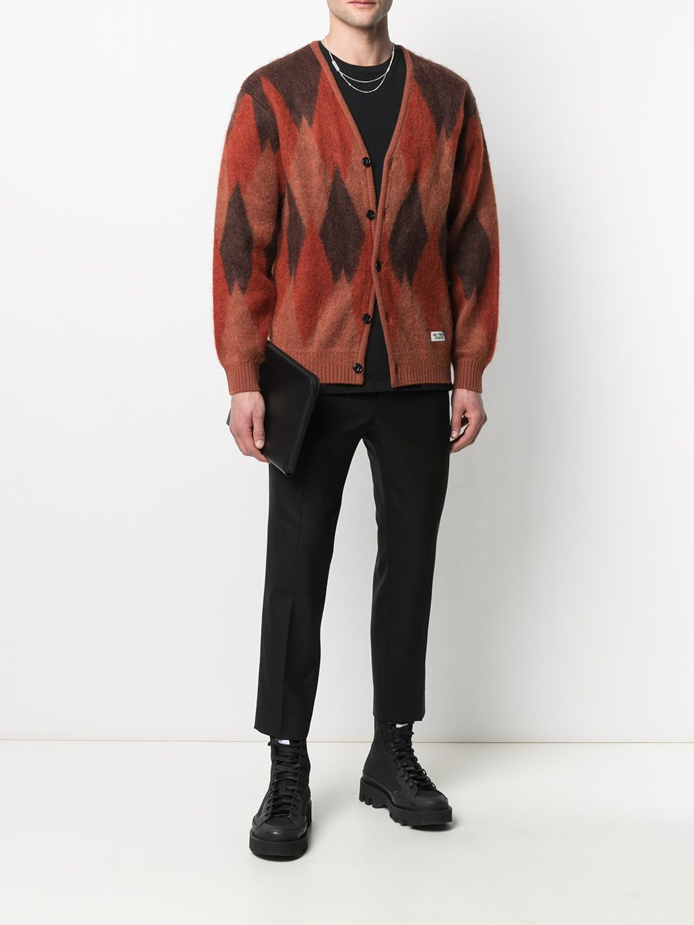 Ami-alexandre mattiussi cropped trousers man AMI - ALEXANDRE MATTIUSSI   Trousers   E21HT206.279001