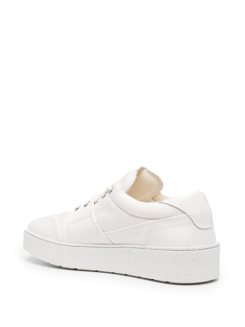 Ami Alexandre Mattiussi sneakers bassa uomo bianco AMI - ALEXANDRE MATTIUSSI   Sneakers   E21S400.962100