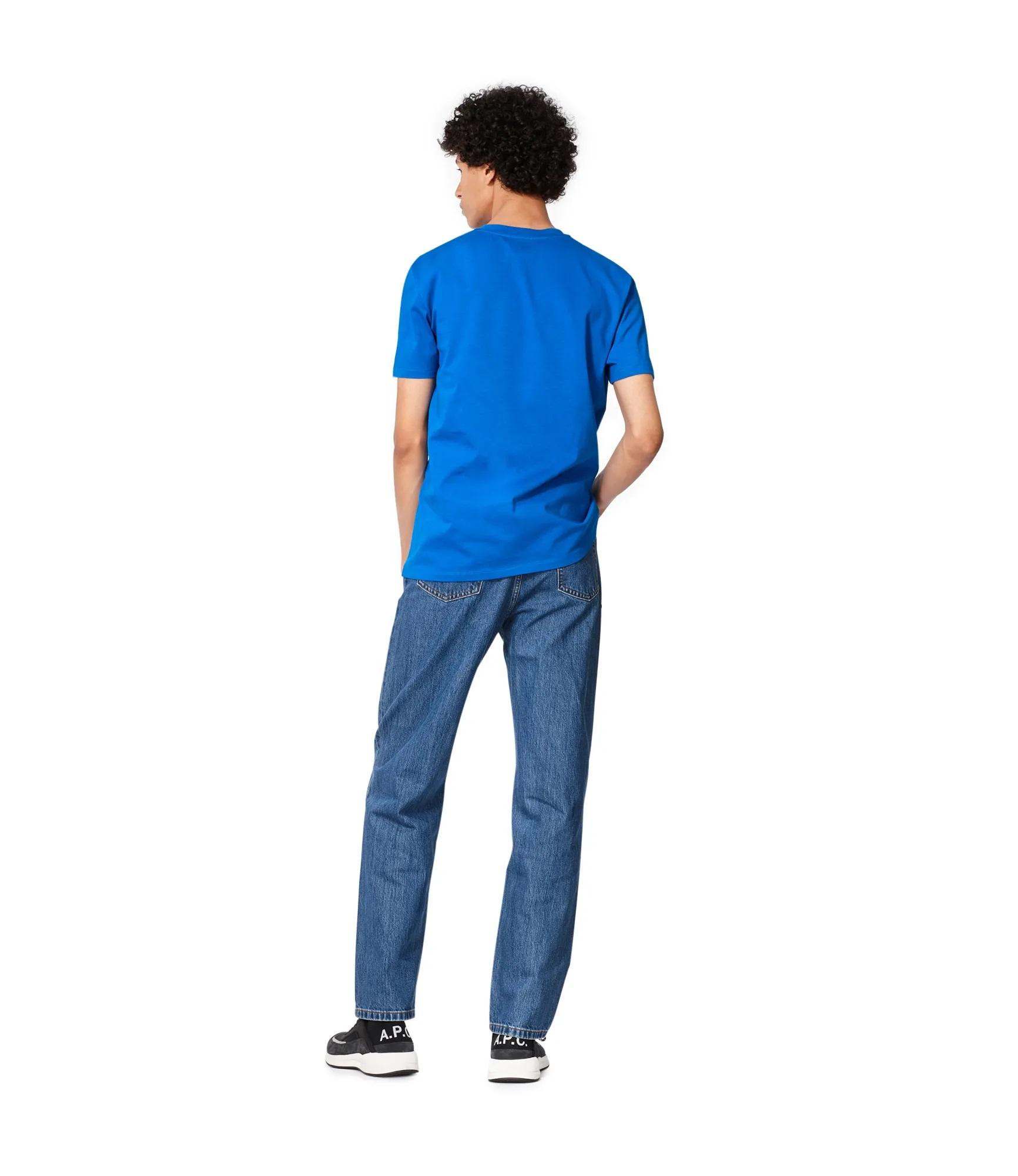 A.p.c. t-shirt with logo man A.P.C. | T-shirts | COBQX-H26943IAG