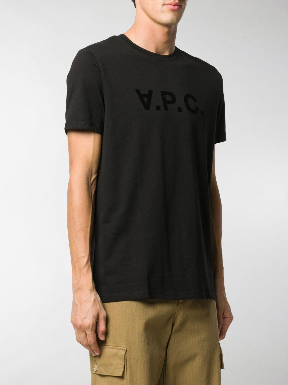 A.P.C. t-shirt con logo uomo A.P.C.   T-shirt   COBQX-H26943LZZ