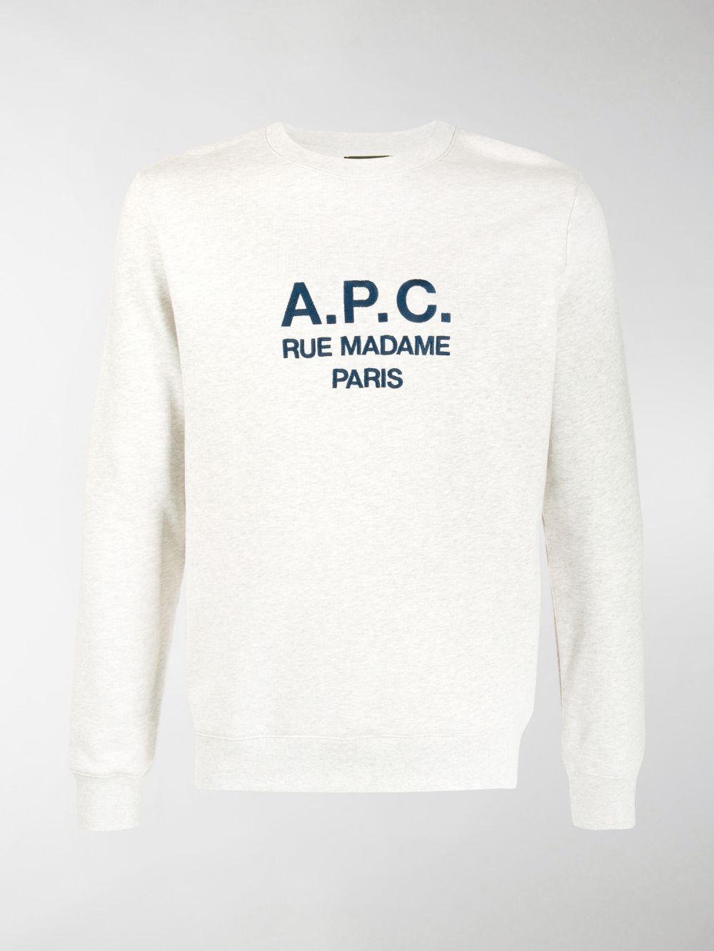 LOGO SWEATSHIRT A.P.C. | Sweatshirts | COEBH-H27500PAA