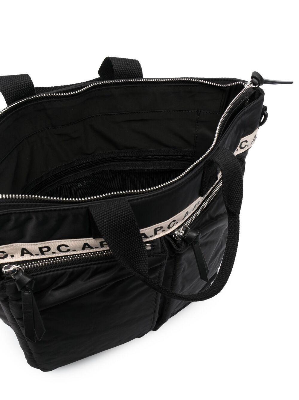 A.P.C. shopping bag man black A.P.C. | Bags | PAACL-H61506LZZ